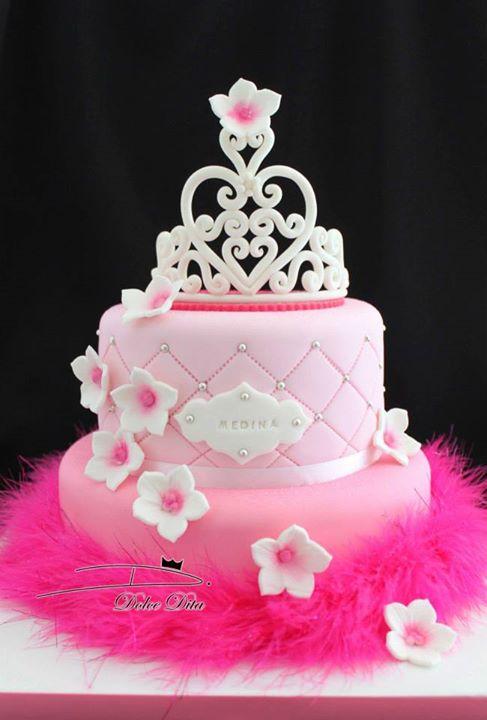 Couronne de princesse - Gateau anniversaire princesse facile ...