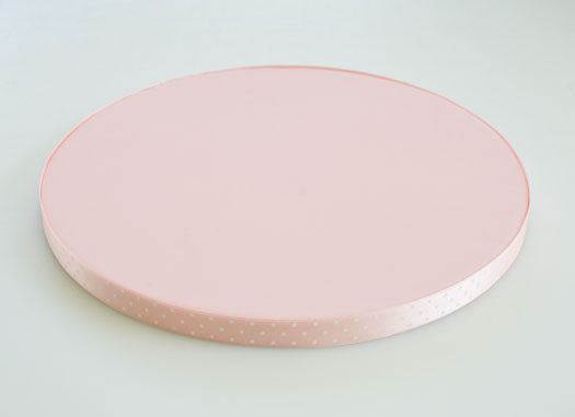 Fondant-covered-cake-board