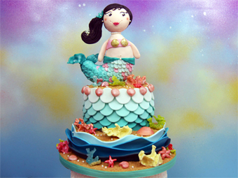 acc_mermaid cake