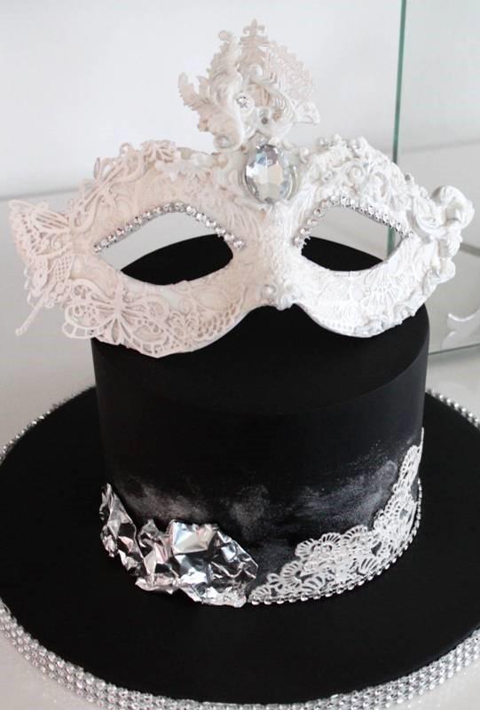 Masque de Carnaval en Gumpaste