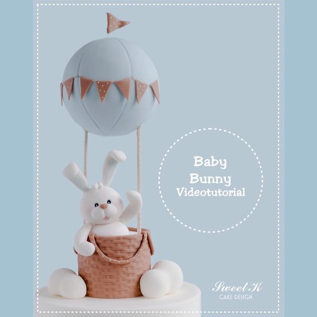 Sweet K Cake Design : Blog Planete GateauPetit lapin dans une Montgolfiere ...