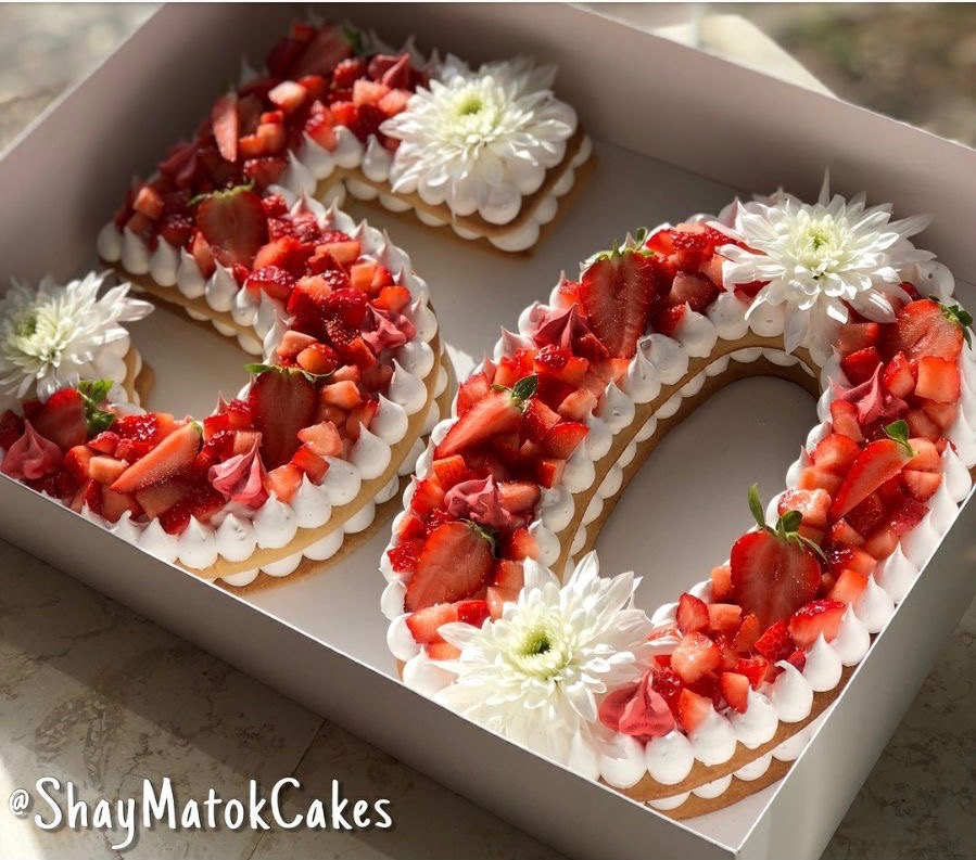 Blog planete gateautarte chiffres et lettres g teau d for Decoration d un fraisier