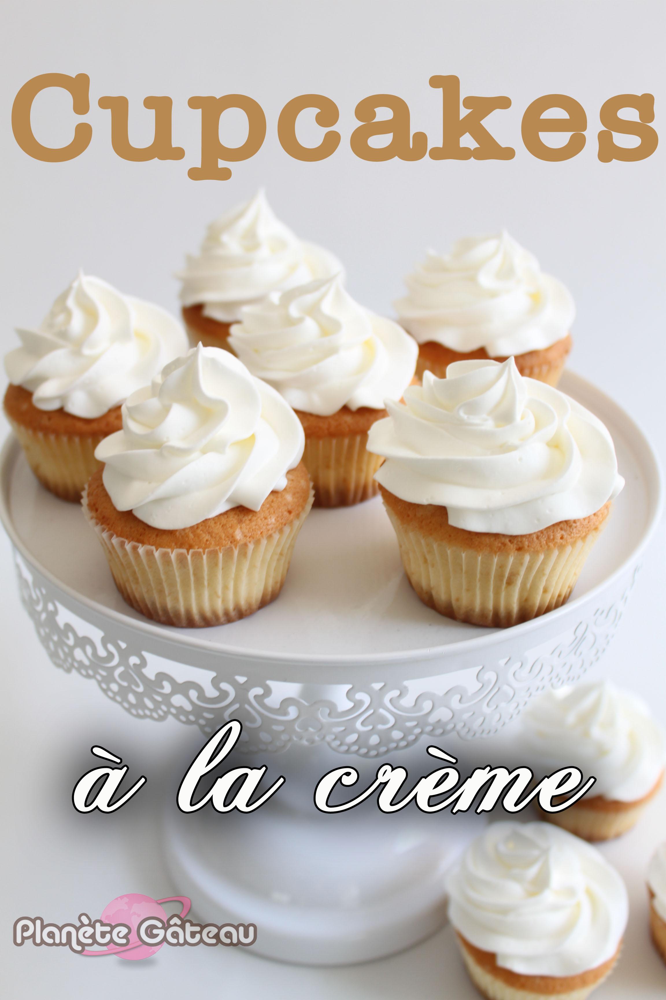 Délicieuse recette de cupcakes nature