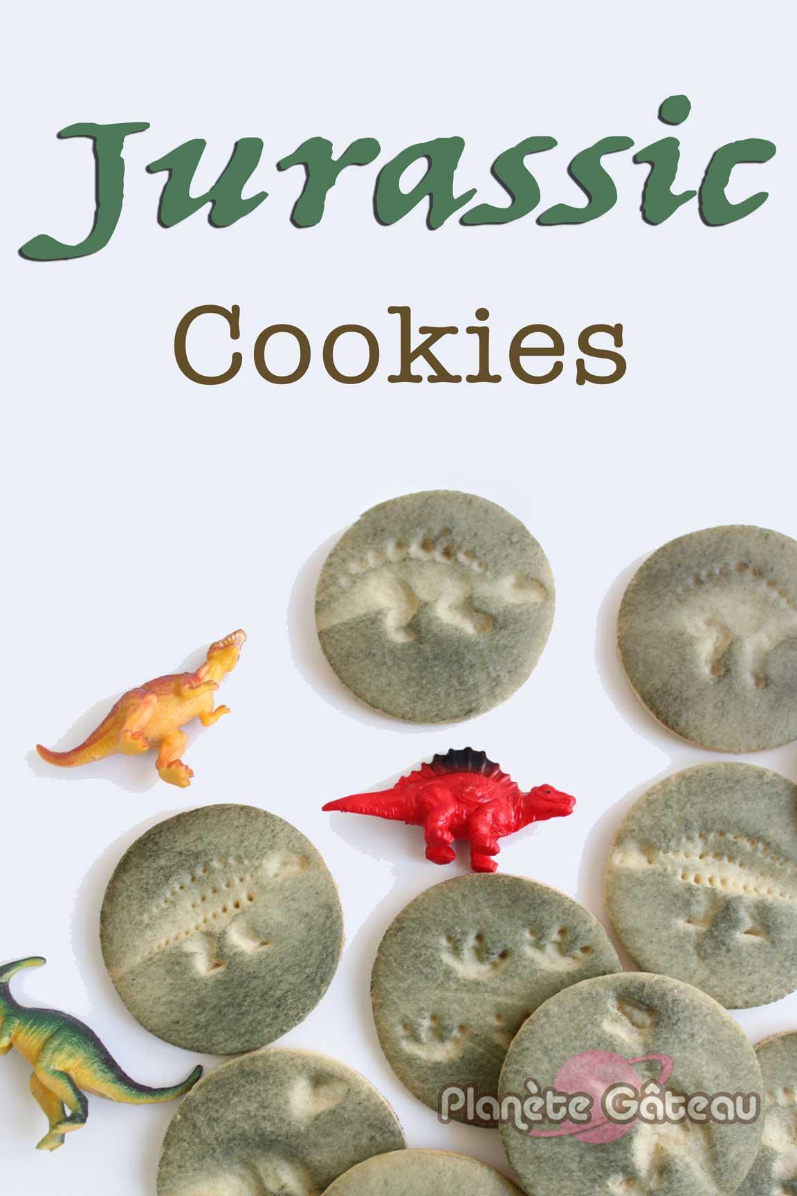 Biscuits Sablés Fossiles de Dinosaures